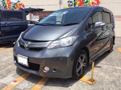 沖縄の中古車 ホンダ フリード 車両価格 69万円 リ済込 平成21年 9.3万K ポリッシュドメタルメタリック