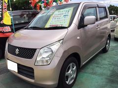 沖縄の中古車 スズキ ワゴンR 車両価格 45万円 リ済込 平成22年 10.8万K ピンク