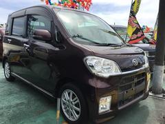 沖縄の中古車 ダイハツ タントエグゼ 車両価格 59万円 リ済込 平成22年 9.0万K ブラウン