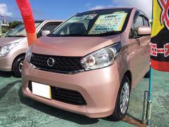 沖縄の中古車 日産 デイズ 車両価格 69万円 リ済込 平成25年 6.2万K シルキーローズM