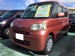沖縄の中古車 ダイハツ タント 車両価格 59万円 リ済込 平成21年 8.6万K ヴェネチアンレッドメタリック