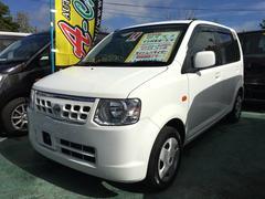 沖縄の中古車 日産 オッティ 車両価格 39万円 リ済込 平成24年 8.1万K ホワイト