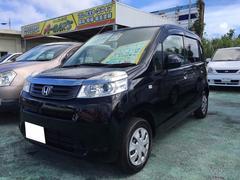 沖縄の中古車 ホンダ ライフ 車両価格 59万円 リ済込 平成23年 8.7万K ブラック