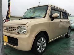 沖縄の中古車 スズキ アルトラパン 車両価格 49万円 リ済込 平成21年 10.7万K ベージュ