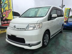 沖縄の中古車 日産 セレナ 車両価格 49万円 リ済込 平成19年 11.8万K パールホワイト