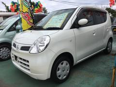 沖縄の中古車 日産 モコ 車両価格 29万円 リ済込 平成18年 8.3万K スノーパールホワイト