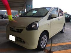 沖縄の中古車 ダイハツ ミライース 車両価格 49万円 リ済込 平成23年 7.1万K コットンアイボリー