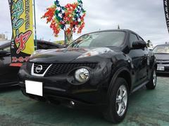 沖縄の中古車 日産 ジューク 車両価格 109万円 リ済込 平成24年 7.4万K サファイアブラックP