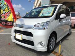 沖縄の中古車 ダイハツ ムーヴ 車両価格 79万円 リ済込 平成24年 9.7万K パールホワイトIII