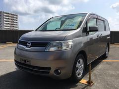 沖縄の中古車 日産 セレナ 車両価格 49万円 リ済込 平成19年 10.0万K アイアンM