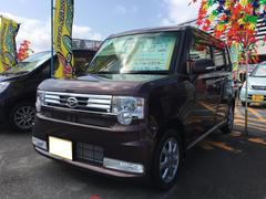 沖縄の中古車 ダイハツ ムーヴコンテ 車両価格 79万円 リ済込 平成24年 6.3万K プラムブラウンクリスタルマイカ