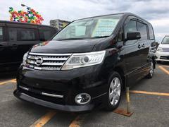 沖縄の中古車 日産 セレナ 車両価格 79万円 リ済込 平成21年 11.4万K スーパーブラック