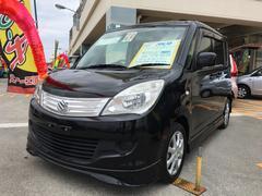 沖縄の中古車 スズキ ソリオ 車両価格 69万円 リ済込 平成24年 7.9万K ブルーイッシュブラックパール3