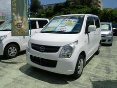 沖縄の中古車 マツダ AZワゴン 車両価格 52万円 リ済別 平成23年 7.3万K スペリアホワイト