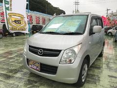 沖縄の中古車 マツダ AZワゴン 車両価格 47万円 リ済別 平成22年 10.0万K シルバー