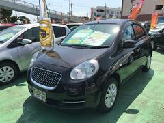 沖縄の中古車 日産 マーチ 車両価格 58万円 リ済別 平成22年 8.0万K ナイトベールパープルPM