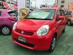 沖縄の中古車 トヨタ パッソ 車両価格 55万円 リ済別 平成23年 4.6万K レッド