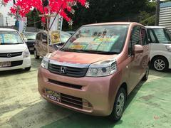 沖縄の中古車 ホンダ ライフ 車両価格 46万円 リ済別 平成23年 10.2万K ピンク