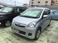 沖縄の中古車 ダイハツ ミラ 車両価格 38万円 リ済別 平成24年 9.2万K シルバー