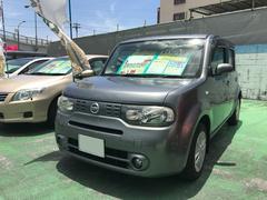 沖縄の中古車 日産 キューブ 車両価格 42万円 リ済別 平成21年 10.4万K グレー