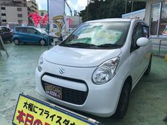 沖縄の中古車 スズキ アルト 車両価格 32万円 リ済別 平成24年 9.7万K スペリアホワイト
