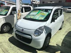 沖縄の中古車 スズキ アルトエコ 車両価格 39万円 リ済別 平成24年 7.5万K リーフホワイト