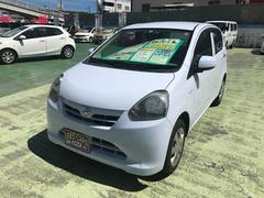 沖縄の中古車 ダイハツ ミライース 車両価格 42万円 リ済別 平成24年 8.7万K スカイブルー