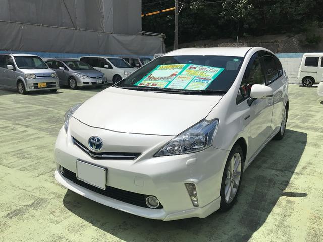 トヨタ Sツーリングセレクション 純正ナビTV