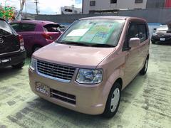 沖縄の中古車 三菱 eKワゴン 車両価格 42万円 リ済込 平成24年 10.5万K サクラピンクメタリック