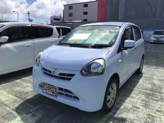 沖縄の中古車 ダイハツ ミライース 車両価格 42万円 リ済込 平成24年 8.9万K スカイブルー