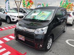 沖縄の中古車 ダイハツ ムーヴ 車両価格 52万円 リ済別 平成24年 10.1万K ブラック