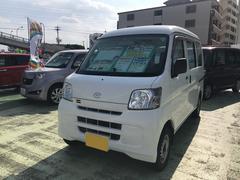 沖縄の中古車 ダイハツ ハイゼットカーゴ 車両価格 53万円 リ済別 平成22年 11.7万K ホワイト