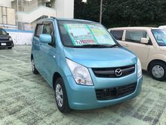 沖縄の中古車 マツダ AZワゴン 車両価格 53万円 リ済別 平成24年 9.5万K ライトブルー