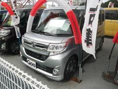 沖縄の中古車 ダイハツ タント 車両価格 166万円 リ済込 平成27年 0.7万K シルバー
