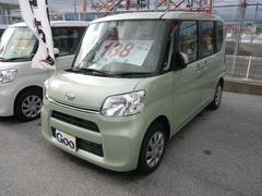 沖縄の中古車 ダイハツ タント 車両価格 134万円 リ済込 平成28年 8K ライトグリーン