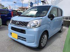 沖縄の中古車 ダイハツ ムーヴ 車両価格 120万円 リ済別 平成28年 0.3万K ライトブルー