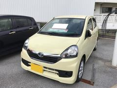 沖縄の中古車 ダイハツ ミライース 車両価格 102万円 リ済別 平成28年 5K ライトイエロー