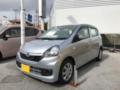 沖縄の中古車 ダイハツ ミライース 車両価格 95万円 リ済別 平成28年 0.3万K シルバー