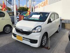 沖縄の中古車 ダイハツ ミライース 車両価格 100万円 リ済別 平成27年 0.3万K ホワイト