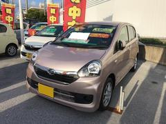 沖縄の中古車 ダイハツ ミライース 車両価格 102万円 リ済別 平成28年 5K ピンク