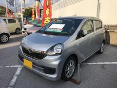 沖縄の中古車 ダイハツ ミライース 車両価格 100万円 リ済別 平成27年 0.7万K シルバー