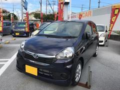 沖縄の中古車 ダイハツ ミライース 車両価格 104万円 リ済別 平成28年 5K 紺