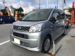 沖縄の中古車 ダイハツ ムーヴ 車両価格 106万円 リ済別 平成28年 0.4万K シルバー