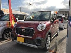 沖縄の中古車 ダイハツ キャスト 車両価格 123万円 リ済別 平成28年 0.1万K レッド