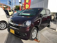 沖縄の中古車 ダイハツ ミライース 車両価格 109万円 リ済別 平成29年 8K ブラウン