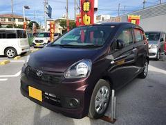 沖縄の中古車 ダイハツ ミライース 車両価格 94万円 リ済別 平成29年 0.3万K ブラウン
