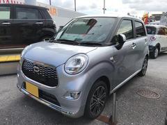 沖縄の中古車 ダイハツ キャスト 車両価格 139万円 リ済別 平成28年 5K シルバー