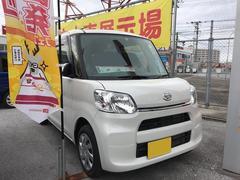 沖縄の中古車 ダイハツ タント 車両価格 131万円 リ済別 平成28年 0.6万K ホワイト
