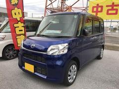 沖縄の中古車 ダイハツ タント 車両価格 129万円 リ済別 平成28年 1.2万K ブルー