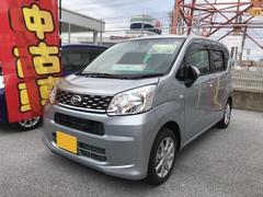 沖縄の中古車 ダイハツ ムーヴ 車両価格 129万円 リ済別 平成29年 5K シルバー